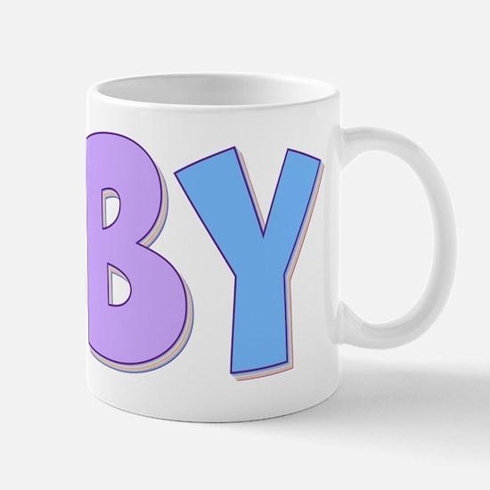 Abby Rainbow Pastel Mug