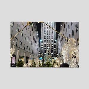 Rockefeller Center at Christmas Rectangle Magnet