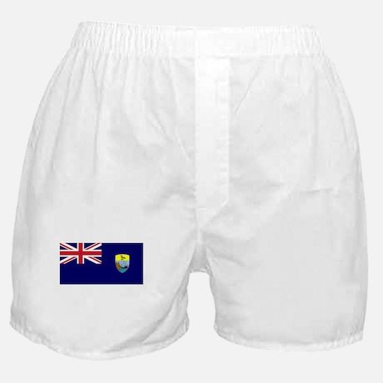 Saint Helena Flag Picture Boxer Shorts