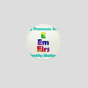 E Em Eirs Pronouns Mini Button