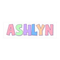 Ashlyn Rainbow Pastel 36x11 Wall Peel