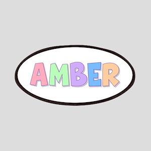 Amber Rainbow Pastel Patch