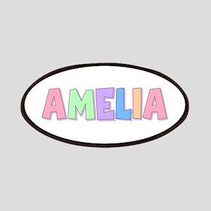 Amelia Rainbow Pastel Patch