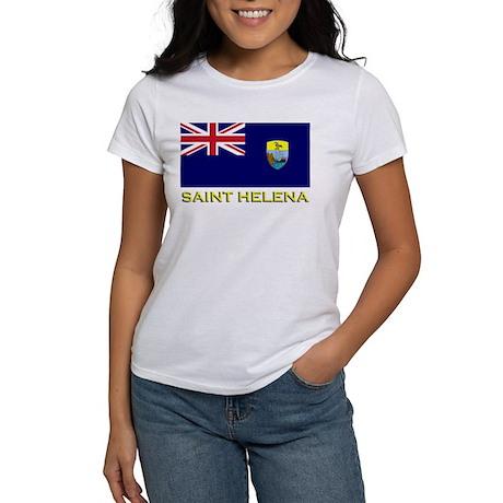 Saint Helena Flag Stuff Women's T-Shirt