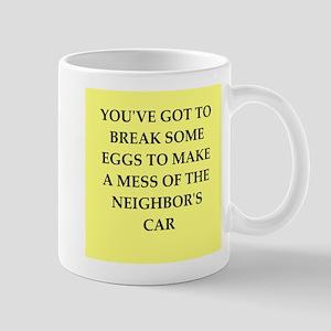 break eggs Mug
