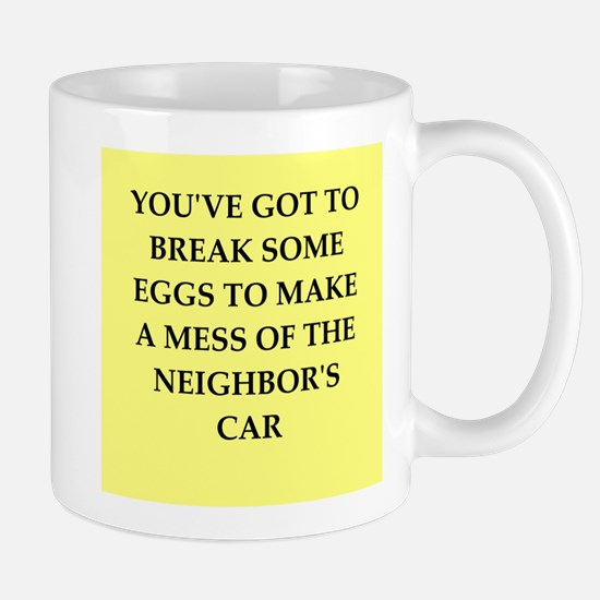 break eggs Mug
