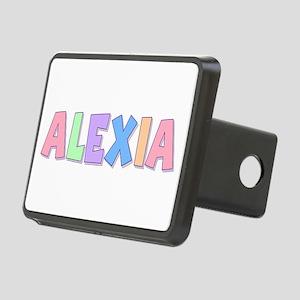 Alexia Rainbow Pastel Rectangular Hitch Cover