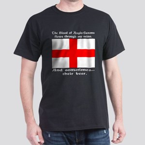 Anglo-Saxon Blood and Beer Dark T-Shirt