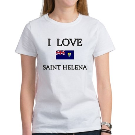 I Love Saint Helena Women's T-Shirt