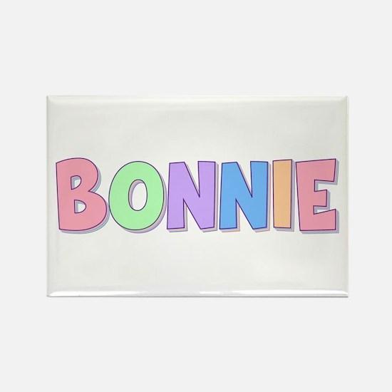 Bonnie Rainbow Pastel Rectangle Magnet