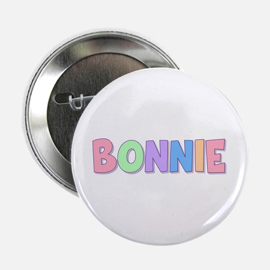 Bonnie Rainbow Pastel Button