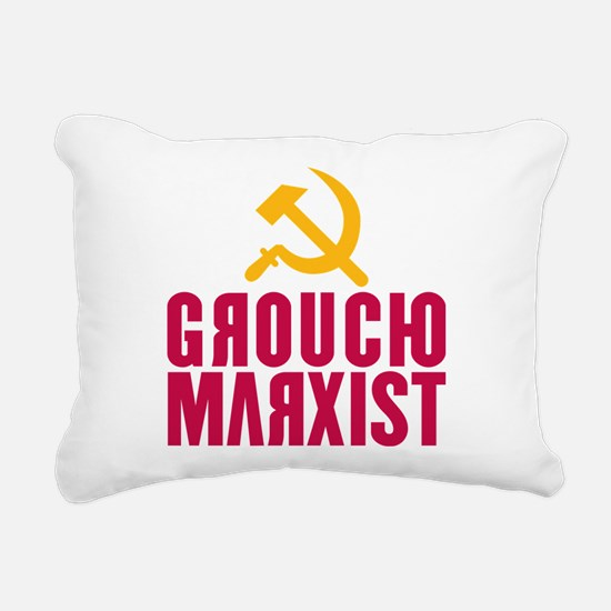 Groucho Marxist Rectangular Canvas Pillow