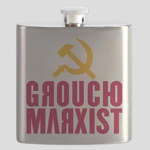 Groucho Marxist Flask