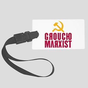 Groucho Marxist Large Luggage Tag