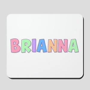 Brianna Rainbow Pastel Mousepad