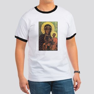 Our Lady of Czestochowa Ringer T