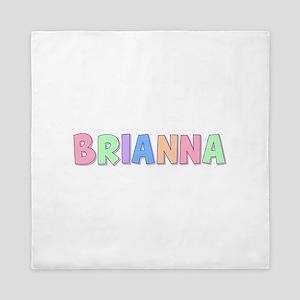 Brianna Rainbow Pastel Queen Duvet