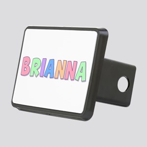 Brianna Rainbow Pastel Rectangular Hitch Cover