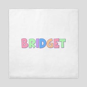 Bridget Rainbow Pastel Queen Duvet