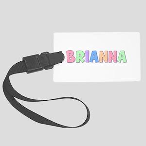 Brianna Rainbow Pastel Large Luggage Tag