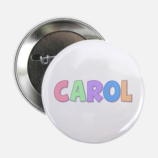 Carol Rainbow Pastel Button