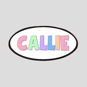 Callie Rainbow Pastel Patch
