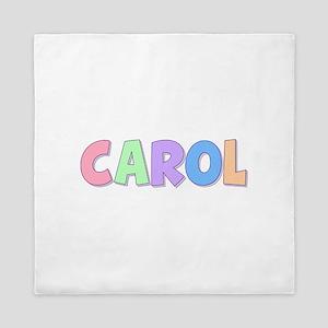 Carol Rainbow Pastel Queen Duvet
