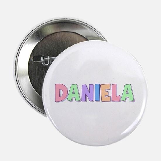 Daniela Rainbow Pastel Button