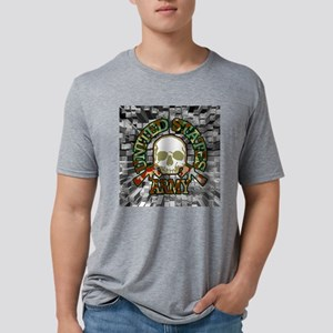 usarmy-tile Mens Tri-blend T-Shirt