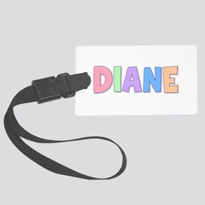 Diane Rainbow Pastel Large Luggage Tag