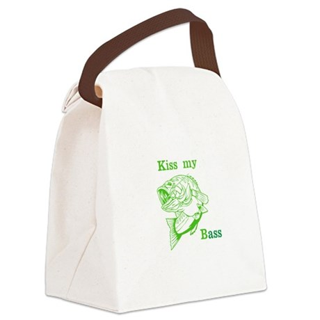 Kiss my bass Canvas Lunch Bag