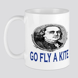GO FLY A KITE - BEN FRANKLIN Mug