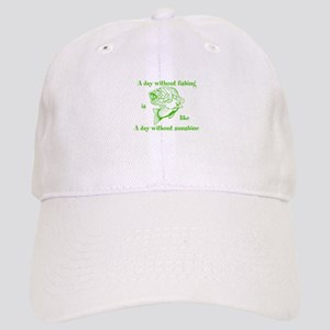 A day without fishing Cap
