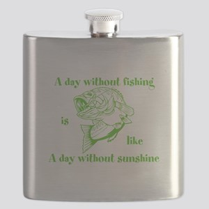 A day without fishing Flask