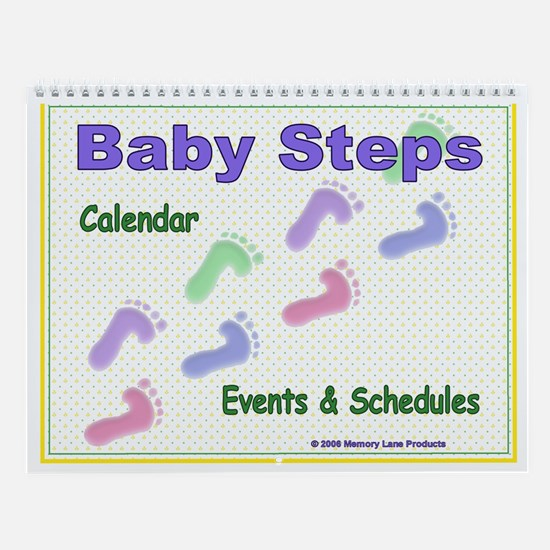 Baby Steps Wall Calendar