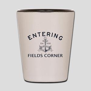 FIELDS CORNER Shot Glass