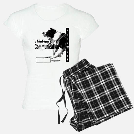Nose work search border collie Pajamas