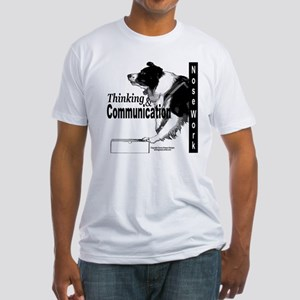 Nose work search border collie Fitted T-Shirt