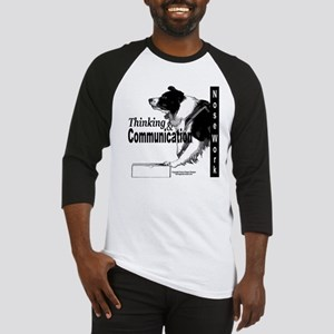 Nose work search border collie Baseball Jersey