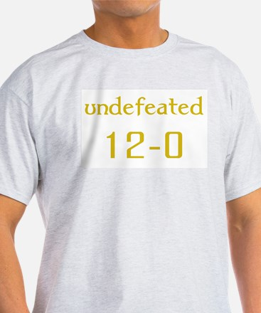 Undefeated - Blue/Gold T-Shirt