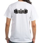 The Brownie Hawkeye Camera White T-Shirt