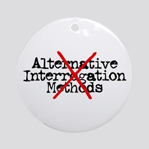 Alternative Interrogation Met Ornament (Round)