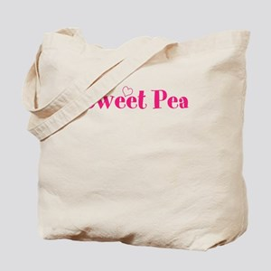 Sweet Pea Girl Tote Bag