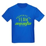 Property of Team Asafa Kids Dark T-Shirt