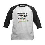 Asafa's Future Track Star Kids Baseball Jersey