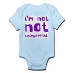 I'm Not NOT Unimpressed Infant Bodysuit