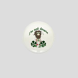 Irish drinker Mini Button
