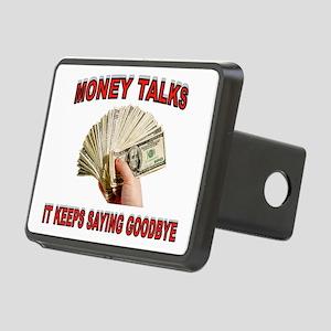 MONEY TALKS Rectangular Hitch Cover