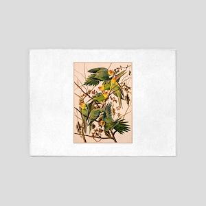 Parakeet Tree 5'x7'Area Rug