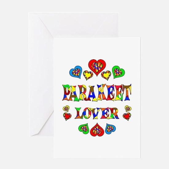 Parakeet Lover Greeting Card